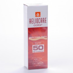 Heliocare gel-crema spf50 color light