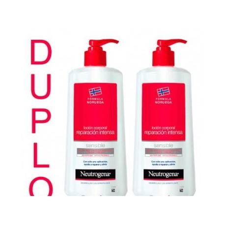 Neutrogena Locion Corpo Intensa 2X750 Ml
