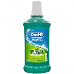 Oral B Colutorio Complete S Alcohol 500 Ml