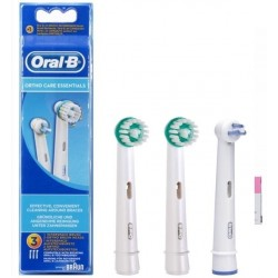 Recambio Cepillo Oral B Braun 2 Ortho+1Interspa