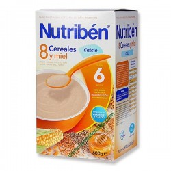 NUTRIBEN 8 CERE GALLETAS MARIA 300 G