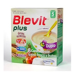 Blevit Plus 8 Cere Queso Fresco Fruta 600 G