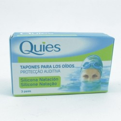 Tapon Oidos Silicona Maxi Quies 6 Un