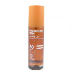 Fotoprotector Isdin Active SPF30 Oil 200 Ml