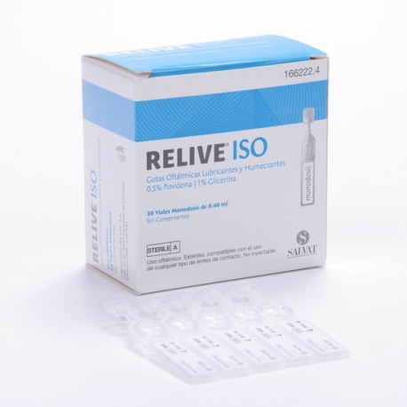 Relive Iso 30 Monodosis 0.4 Ml