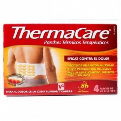 Thermacare Zona Lumbar Cadera 4 Parches