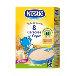 Nestle 8 Cereales Yogurt Sin Leche 600 G