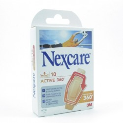NEXCARE ACTIVE 360 STRIPS 28X76 10 U