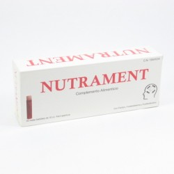 Nutrament 20 Viales Bebibles 10 Ml