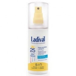 Ladival Piel Sensible Alerg F25 Gel Spray 150 Ml