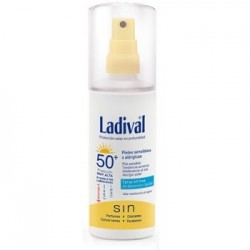 LADIVAL PIEL SENSIBLE ALERG F15 GEL SPRAY 150 ML