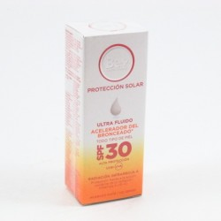 Be Plus F30 Ultra Fluido Acelera Bronceado 50Ml