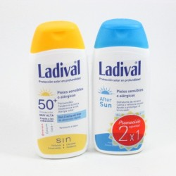 Pack Ladival Alerg F50 200Ml + After Sun