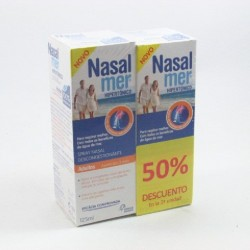 Pack Nasalmer 125 Ml 2 Un 50% Dto