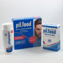 Pilfood Pack Energy 60 Comp + Champu 200