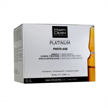 Martiderm Photo Age Vitamina C 30 Amp