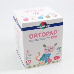 Ortopad For Girls Ocular T-Med 50 Parch