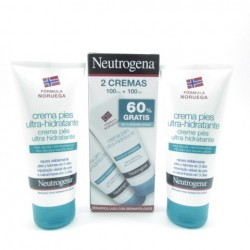 Neutrogena Crema Pies Ultrahidra 2X100Ml