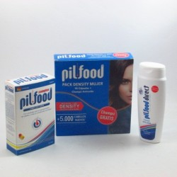 Pilfood Pack Density 90 Cap + Champu 200