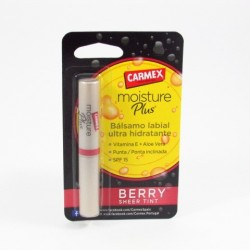 Carmex Labial Moixture Plus Berry 2 G