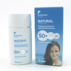 Protextrem F50+ Natural Fluid Invi 50 Ml