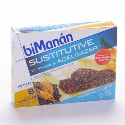 Bimanan Cereales Chocolate 8 Barritas