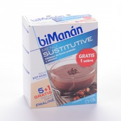 Bimanan Sustitutive Natillas Praline 5 Sob