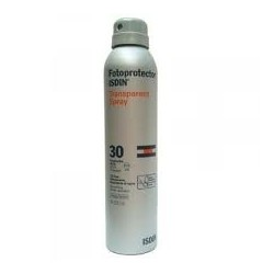 Fotoprotector Isdin SPF30 Transpar Spray 200Ml