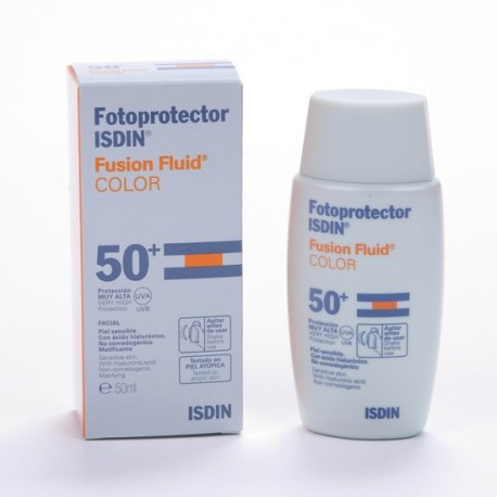 Fotoprotector Isdin SPF50 + Fusion Fluid Color 50