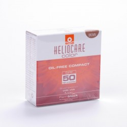 Heliocare F50 Compacto Oil Free Brown 10