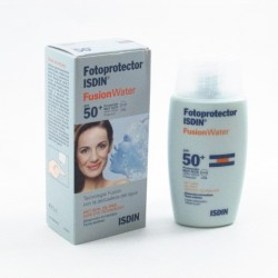 Fotoprotector Isdin SPF50 + Fusion Water 50 Ml