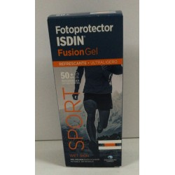 Fotoprotector Isdin SPF 50+ Fusion Gel Body 100