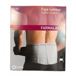 Faja Farmalas Lumbar Doble Refuerzo T2