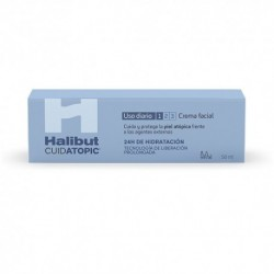 Halibut Cuidatopic Crema Facial 50Ml