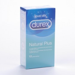 Durex Natural Plus 12 Love Sex