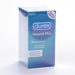 Durex Natural Plus 24 Easy On