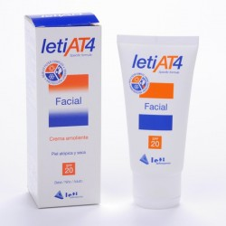 Leti At 4 F20 Crema Facial 50 Ml