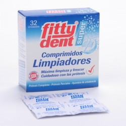 Fittydent Limpia Ortod Y Protes 32 Comp
