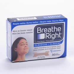 Tira Nasal Breathe Right Pño 30 Uni
