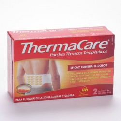 Thermacare Zona Lumbar Cadera 2 Parches