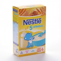 Nestle Papilla 5 Cereales 600 G