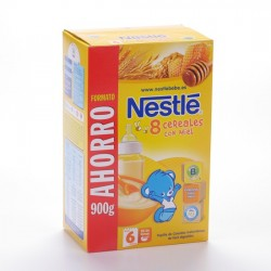 Nestle 8 Cereales Miel 900 G