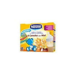 Nestle Leche Cereales Miel Brik 2X250 Ml
