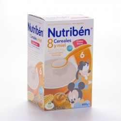 NUTRIBEN 8 CERE MIEL FRUTOS SECOS 600