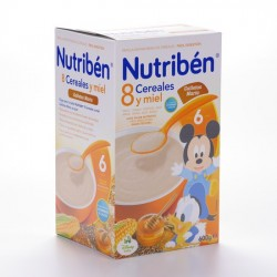 Nutriben 8 Cere Miel Galletas Maria 600