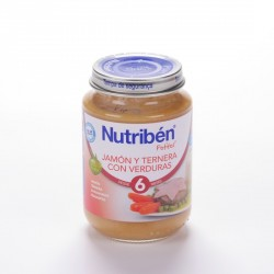 Nutriben JUnidad Jamon Ternera Verduras