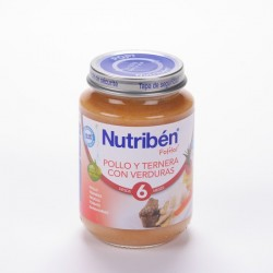 Nutriben JUnidad Pollo Ternera Verduras