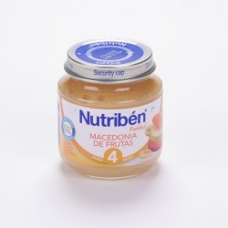 Nutriben 130 G Macedonia Frutas