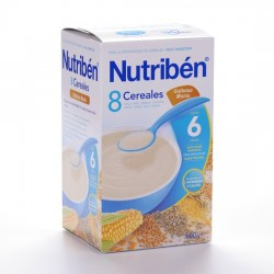NUTRIBEN 8 CERE GALLETAS MARIA 600 G