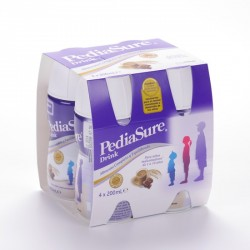 Pediasure Drink Chocolate 4X200 Botella